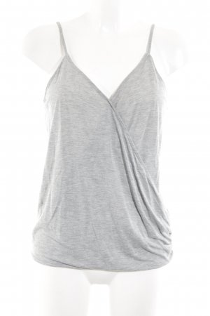 H&M Spaghetti Strap Top light grey casual look