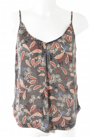 H&M Spaghettiträger Top florales Muster Casual-Look