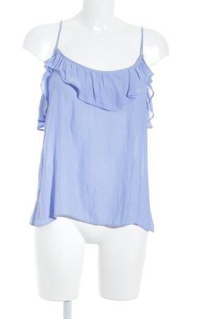 H&M Haut à fines bretelles bleuet style décontracté