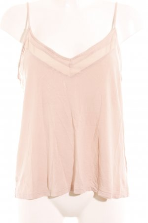 H&M Spaghettiträger Top nude-rosé Street-Fashion-Look