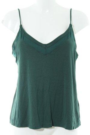 H&M Top de tirantes finos verde bosque look Street-Style