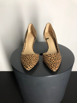 H&M Spitz-Pumps im Animal-Print
