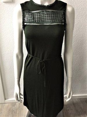 H&M Spitze Kleid grün leicht 34/XS
