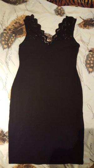 H&M Spitzen Kleid schwarz M wie neu