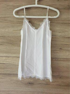 H&M L.O.G.G. Lace Top white