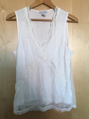 H&M Lace Top white-natural white
