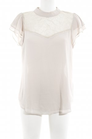 H&M Spitzenbluse nude Casual-Look