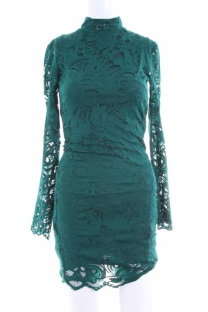 H&M Lace Dress green party style