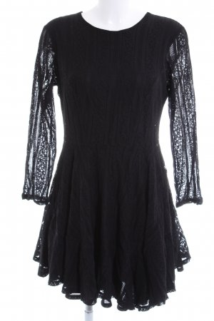 H&M Lace Dress black elegant