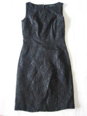 H&M spitzenkleid etuikleid neu schwarz xs 34