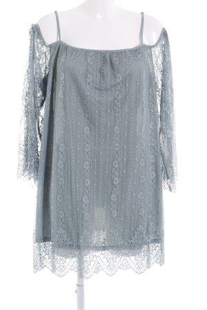 H&M Lace Dress sage green floral pattern romantic style