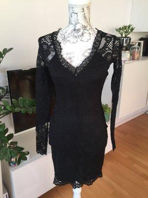 H&M Spitzenkleid Kleid Gr XS wie neu