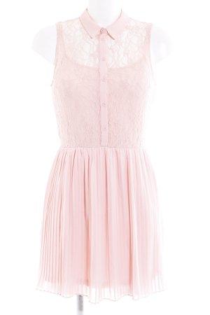 H&M Robe en dentelle rose style romantique