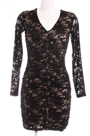 H&M Kanten jurk zwart elegant