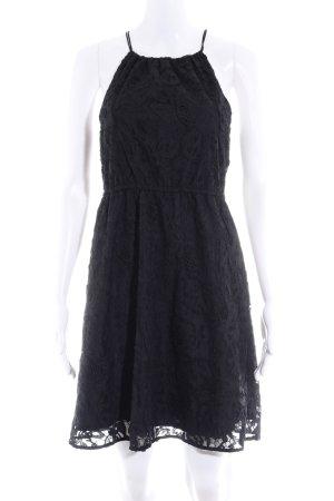 H&M Abito in pizzo nero elegante