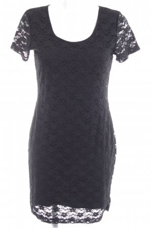 H&M Robe en dentelle noir élégant