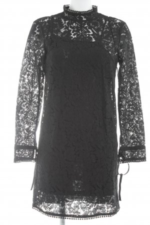 H&M Kanten jurk zwart Geweldige look