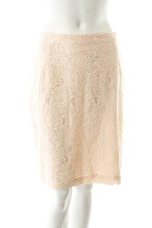 H&M Kanten rok stoffig roze romantische stijl