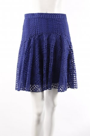 H & M lace skirt blue