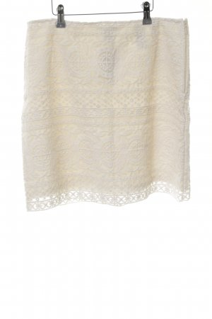 H&M Lace Skirt cream elegant
