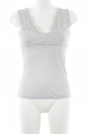 H&M Lace Top light grey elegant