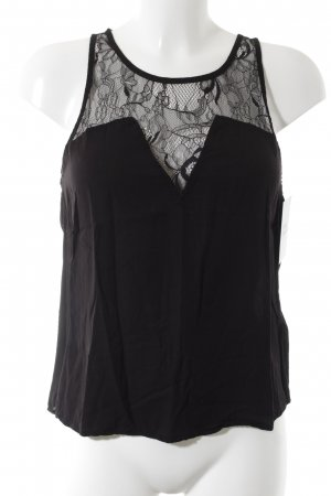 H&M Top di merletto nero stile top