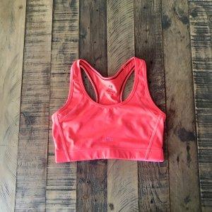 H&M Sport BH Gr. S korallenrot/ pink/ orange