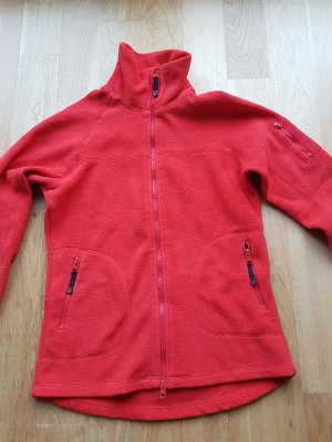 H&M Sport Fleece Jackets red