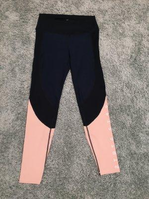 H&M Sport-Hose blau-rosa in Größe S