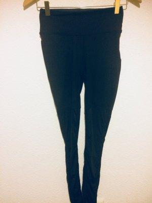H&M Sport Leggings black mixture fibre