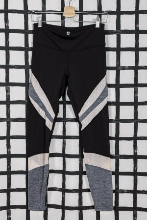 H&M Leggings multicolored mixture fibre