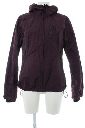 H&M Sport Sportjacke purpur Casual-Look