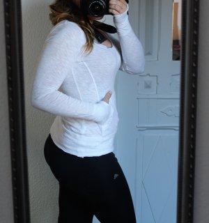H&M Sport Sweatshirt weiß Gr. XS / S