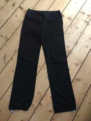 H&M Sporthose in schwarz / lang