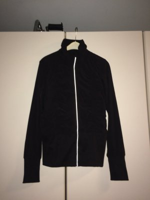 H&M Windbreaker black synthetic fibre
