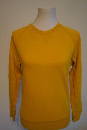 H&M sportlich Sweatpullover gelb