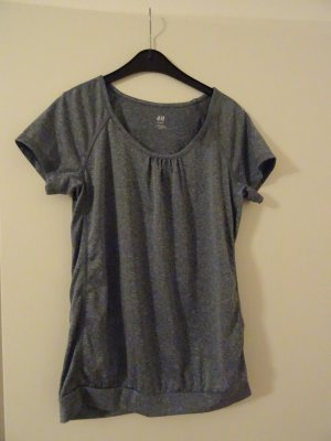 H&M Sports Shirt slate-gray