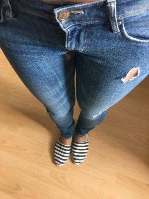 H&M Sqi'n Ripped Jeans Gr. 26/30
