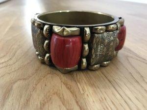 H&M Bangle bronze-colored-dark red