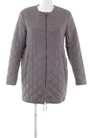 H&M Veste matelassée gris motif de courtepointe style simple