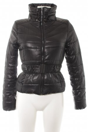 H&M Steppjacke schwarz Casual-Look