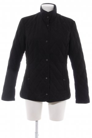 H&M Steppjacke schwarz Steppmuster Casual-Look