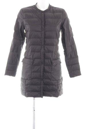 H&M Cappotto trapuntato marrone motivo trapuntato stile semplice