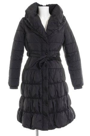 H&M Steppmantel schwarz schlichter Stil