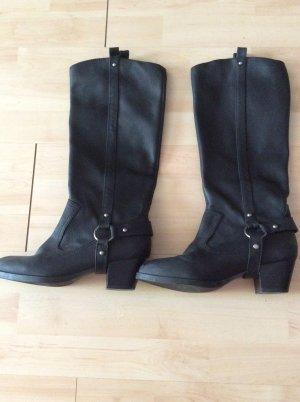 H&M Stiefel Gr 37 schwarz