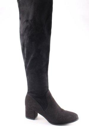 H&M Stiefel schwarz schlichter Stil