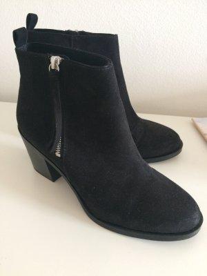 H&M Stiefeletten 41 neu schwarz Stiefel Winter Herbst