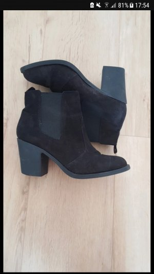 H&M stiefeletten schwarz 39