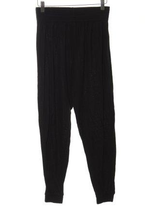 H&M Stoffhose schwarz sportlicher Stil