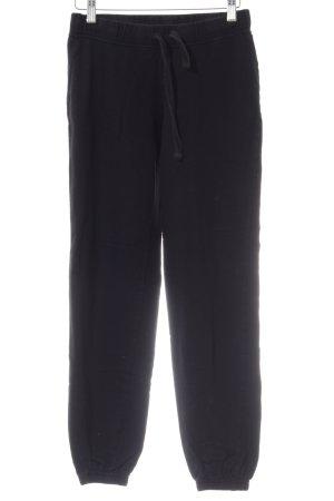 H&M Pantalon en jersey noir style athlétique